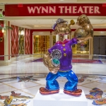 Jeff Koons Popeye statue at Wynn